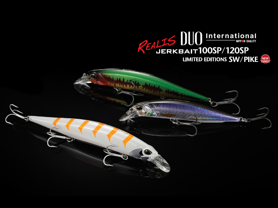 DUO Realis Jerkbait 100SP – varianta Pike Limited