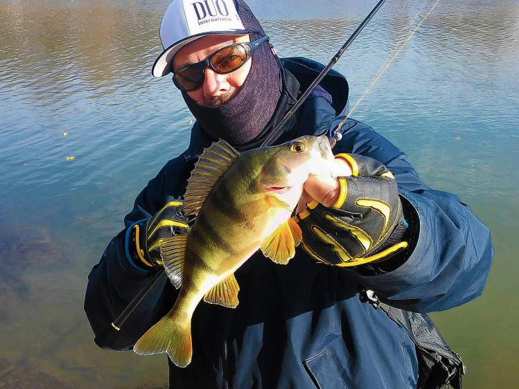 Eu si iarna pescuiesc!